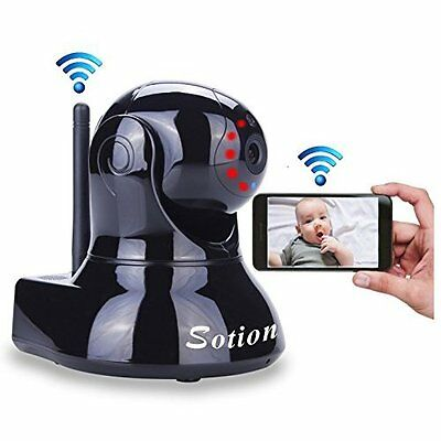 NEW Wireless HD Video Baby Monitor Camera WiFi Network IP Audio Night Vision