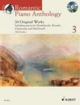 Romantic Piano Anthology Book 3 Book & Cd