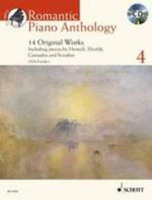 Romantic Piano Anthology Book 4 Book & Cd