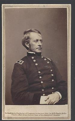 Civil War CDV of Union General Joseph Hooker by Anthony/Brady