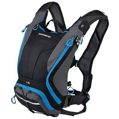 New Shimano UNZEN Hydration Day Pack 6 Liter Lightning Blue Cycling Sports