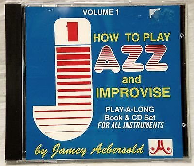 Aebersold Play Along CD Vol. 1: How to Play Jazz and Improvise CD ONLY