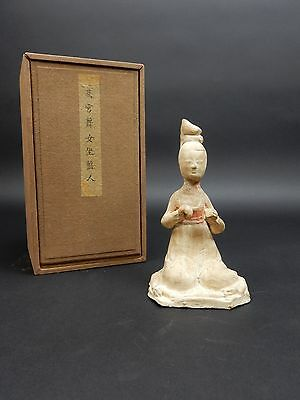 Antique Chinese Tang Funerary Statue 8th Century 8.5 inches