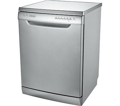 ESSENTIALS CDW60S16 Full-size Dishwasher A++ 12 place settings Silver