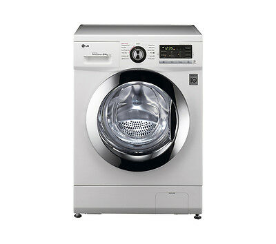 LG F1496AD Washer Dryer 1400 rpm 8kg Condensor - White