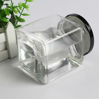 200ml Spice Candy Glass Jar w/Clip Lid Bottle Jam Storage Container Canister