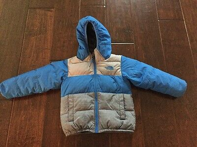 The North Face Blue Toddler Reversible Jacket.  Size 3T. Great Condition!