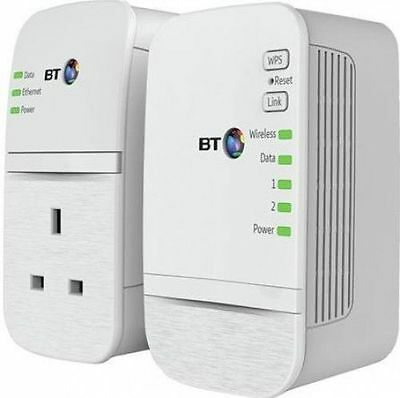 BT 600 Wifi Home Hotspot Plus Powerline Multi-Adapter Booster Kit