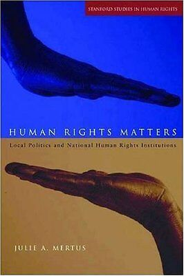 Human Rights Matters,HB,Julie A. Mertus - NEW