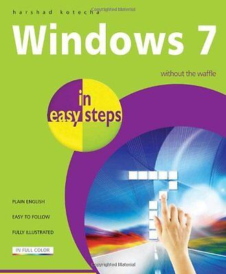 Windows 7 in Easy Steps - Paperback By Harshad Kotecha - NEW