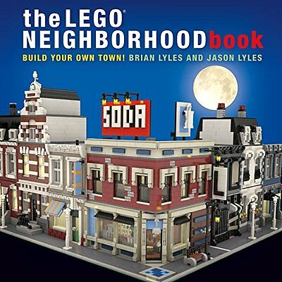 The LEGO Neighborhood Book: Build Your Own Town!,PB- NEW