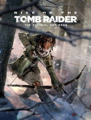 Rise of the Tomb Raider: The Official Art Book Hardback - NEW