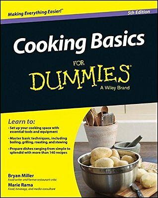 Cooking Basics For Dummies,PB- NEW