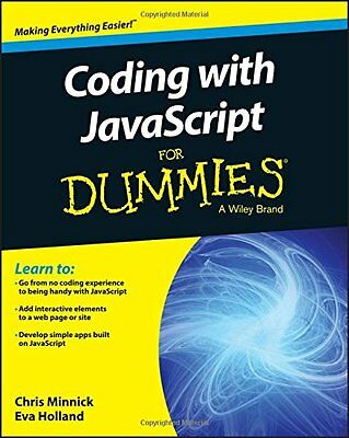 Coding with JavaScript For Dummies,PB- NEW