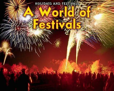 A World of Festivals,HB,Rebecca Rissman - NEW