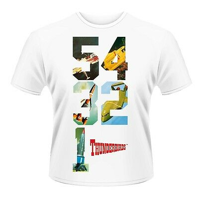 5 4 3 2 1 - Thunderbirds T-shirt