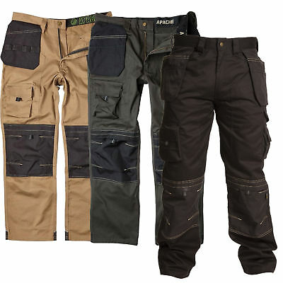 Apache Workwear - Holster Cordura - Kneepad - Industrial Cargo Work Trousers