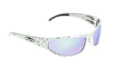 NEW ICICLES Baggers Diamond HD Road Lens Mirror Sunglasses with Chrome Frame