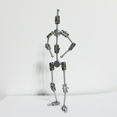 DIY kit of Stop Motion Animation Character metal Puppet Armature 25cm (high)