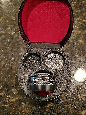 Volk SuperField NC Lens with case Excellent Condition