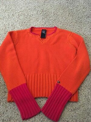 Girls Sweater By Tommy Hilfiger Jeans Size Lg