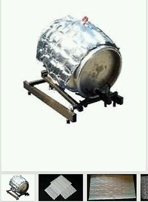 5 x ICE SHEETS, home brew equipment kit cooling barrel