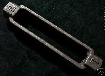 "1/2"" x 6""  TURNBUCKLE BODY  -  FORGED STEEL  -  10 PACK"