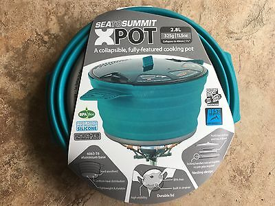 Sea to Summit XPot 2.8L Collapsible Cooking X-pot Hiking Camping Backpacking NEW
