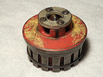 """Ridgid 12R  1/4""""   Pipe Die Head decent chasers"""