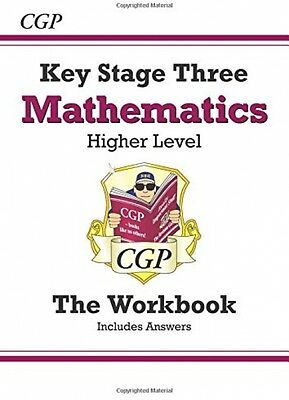 CGP KS3 Maths Workbook with Answers Higher Level 5-8 NEW Exam Test Practise Book