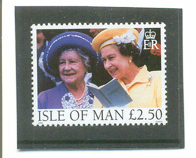 Isle of Man-Queen & Queen Mother mnh - Royalty