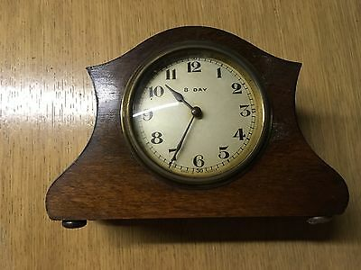 Retro Vintage French SRFA Japy Freres et Cie 8 day Clock