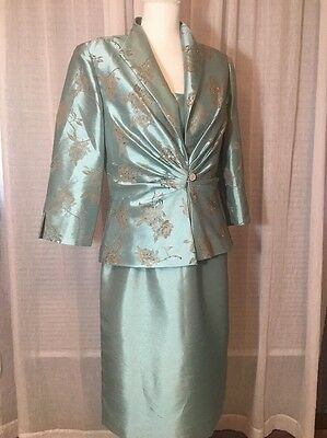 New Jessica Howard Mother of the Bride 2 pc.Dress and Jacket Sz. 10