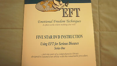 Using EFT for Serious Diseases Series1 & 2~15 discs~Emotional Freedom DVD Course