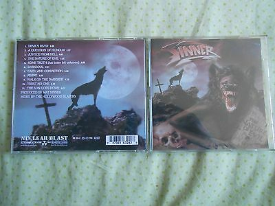"SINNER ""The Nature Of Evil"" - Limited Edition - 2CD´s"