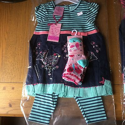 Brand New Set Of Cutey Couture Baby Girl Clothes