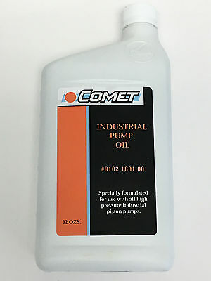 Pressure Pump Oil For Carpet Cleaning Truckmount - Comet, Cat & General Pumps