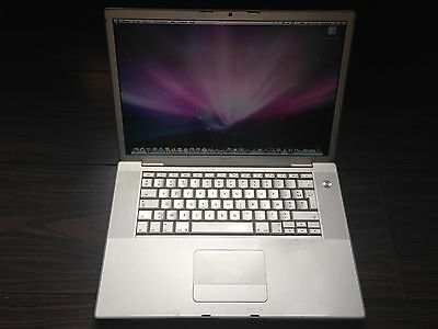 "MacBook Pro 15"" A1260 / Core 2 Duo 2.5 GHz / 2 Go Ram / Hdd 250 Go / OS X 10.8.5"