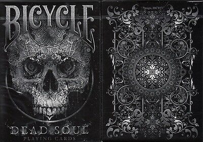 Dead Soul Bicycle Playing Cards Poker Size Deck USPCC Custom Limited Edition New
