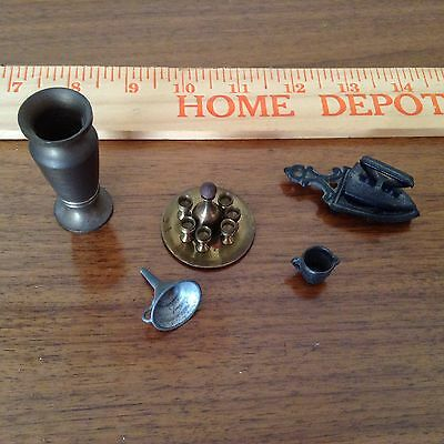 Miniture Metal Doll House Goods
