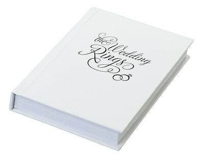 The Wedding Ring Book Box SFLRRA501T. Purchase 3 get 4th free
