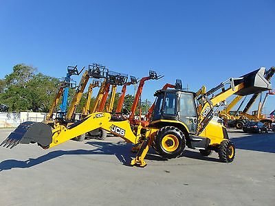 "2017 Jcb 3Cx ""enclosed A/c Cab""  4Wd Backhoe - Comfort Cab -"