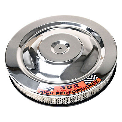 Scott Drake C8ZZ-9600-W Mustang  Air Cleaner Chrome Hi-Po 1965-1973