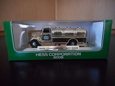 Hess Miniature Truck 2006 Chrome  Special Edition