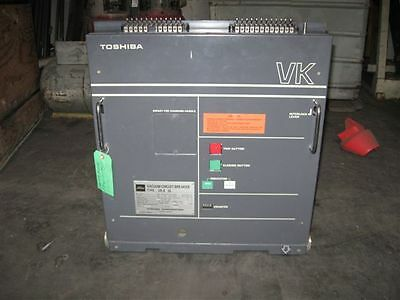 Toshiba (VK632) VK6-32 1200 A, 4.76kv Vacuum Circuit Breaker, Used/ Tested