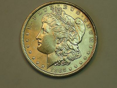 1886  Morgan Silver Dollar     HIGH GRADE  MS