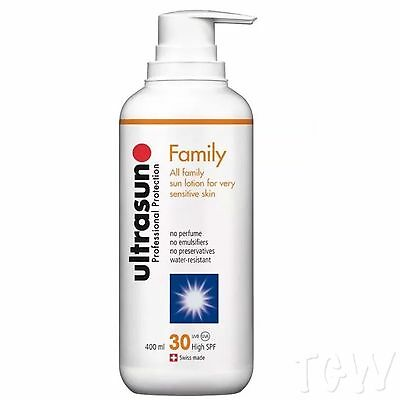Ultrasun SPF30 Family Formula 400ml | TRUE ONCE A DAY | FREE Express P&P