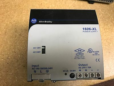 Allen Bradley 1606-Xl240E Power Supply Series A 24 Vdc Output 120/240 Vac In