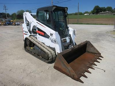 2014 Bobcat T650 Skid Steer Loader, 905 Hrs!!!, Cab, AC/Heat, SJC Pilot Controls