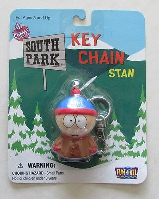 Vintage - RARE -1998  South Park Stan Key Chain New Mint on card!